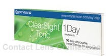 Clearsight 1-Day Toric